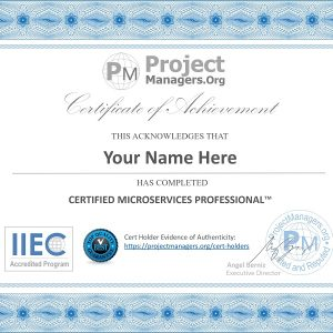 Certified Microservices Professional