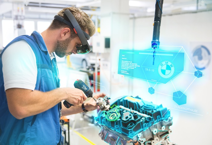 augmented reality in manufacturing certification course